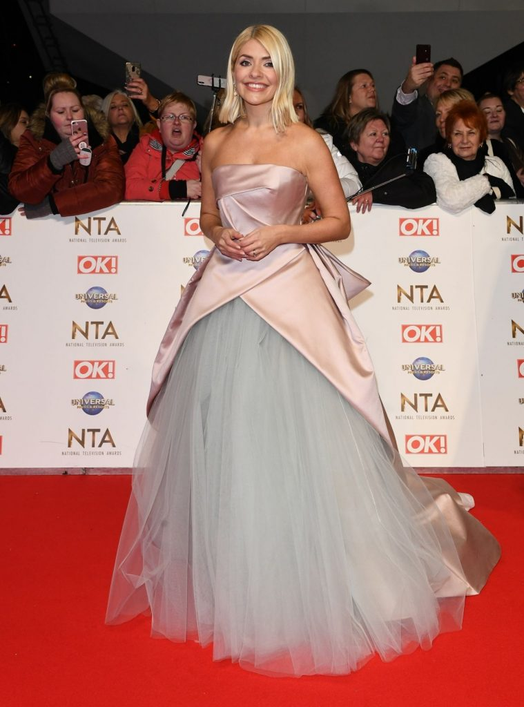National Television Awards 2020 in London: Holly Willoughby (9 Photos)