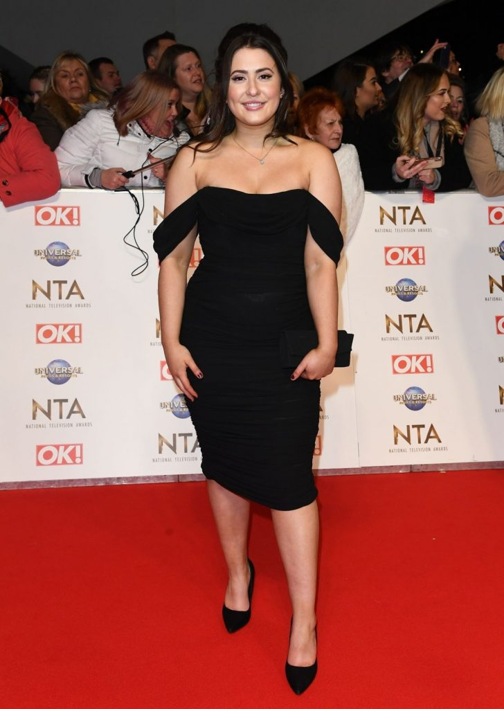 National Television Awards 2020 in London: Jasmine Armfield (5 Photos)