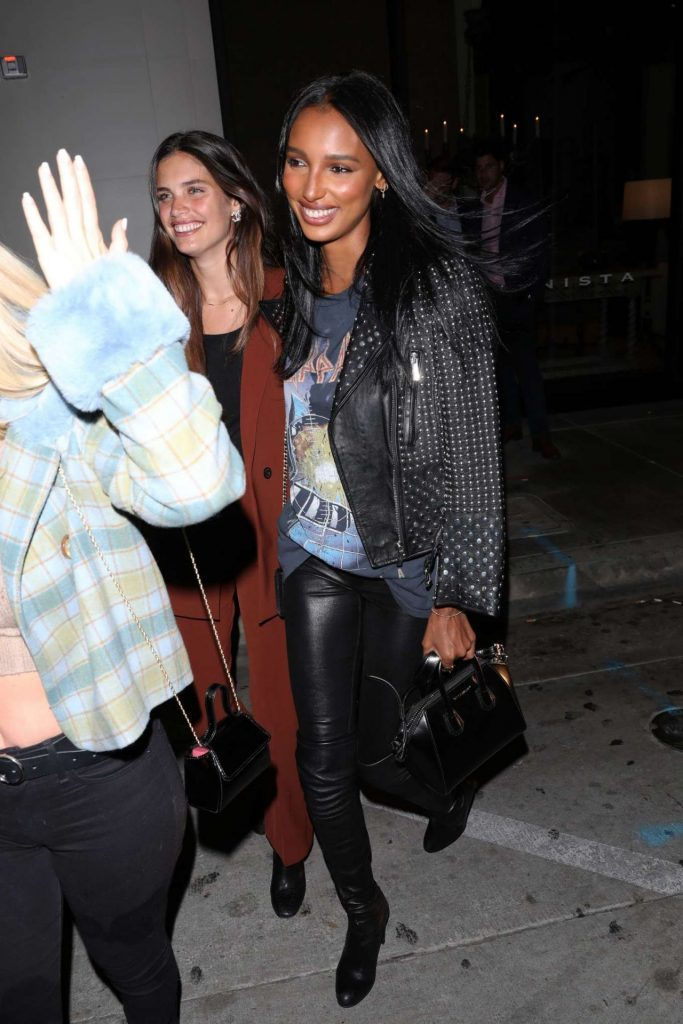 Sara Sampaio and Jasmine Tookes – Catch in West Hollywood January 2020