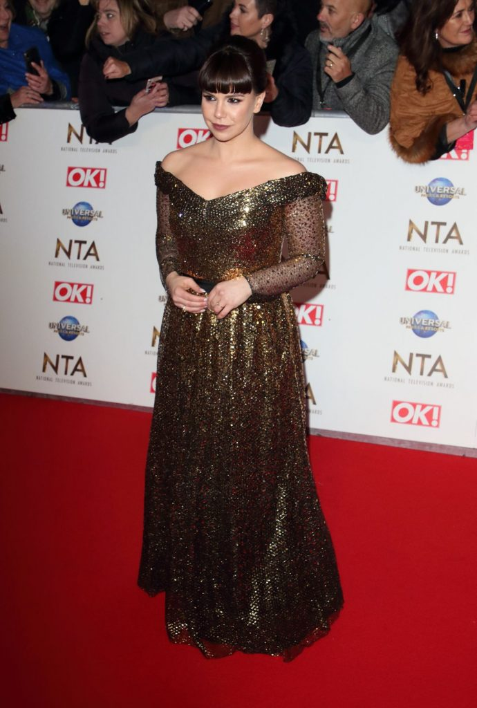 National Television Awards 2020 in London: Jessica Fox (4 Photos)