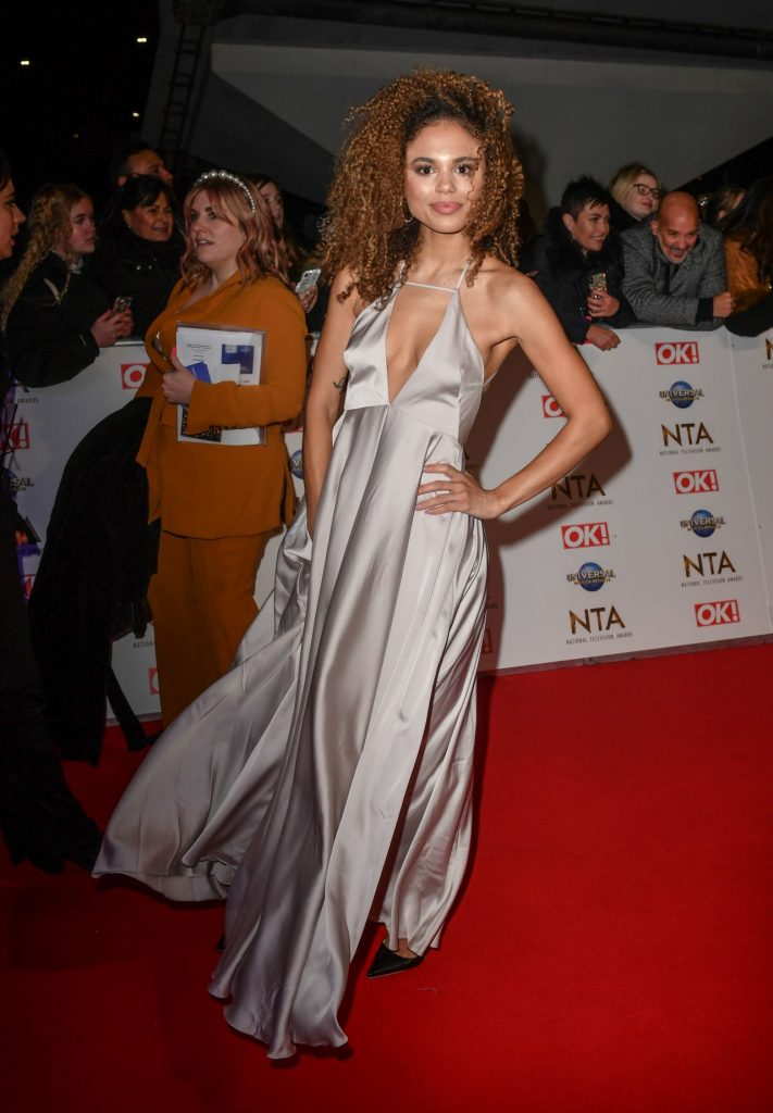 National Television Awards 2020 in London: Jessica Plummer (10 Photos)