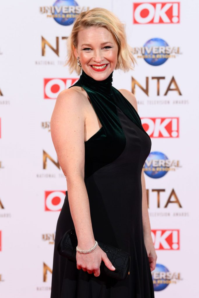 National Television Awards 2020 in London: Joanna Page (6 Photos)
