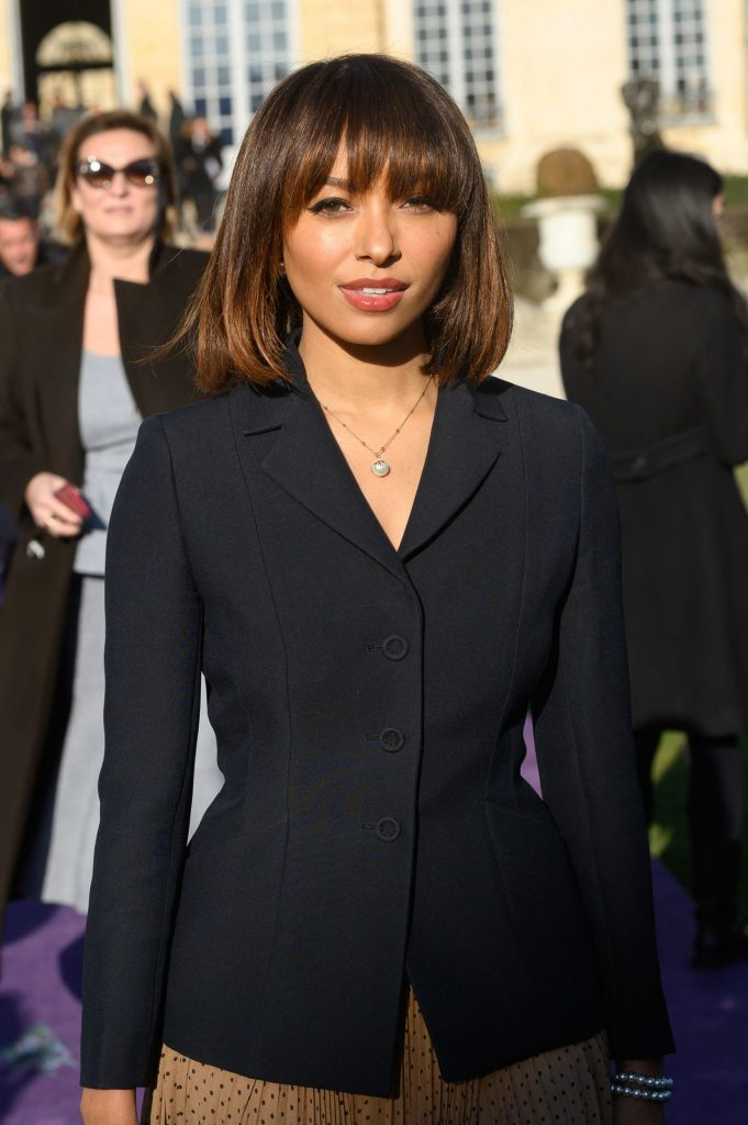 Kat Graham – Dior Haute Couture Show at Paris 2020 (5 Photos)
