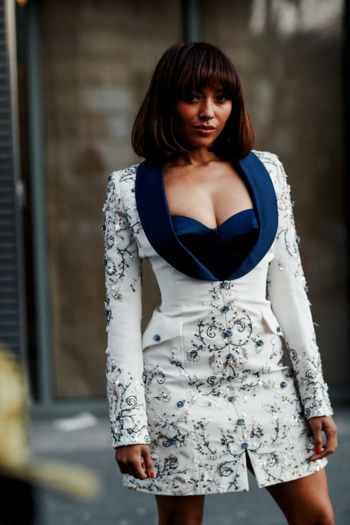 Kat Graham – Ralph and Russo Fashion Show in Paris 2020