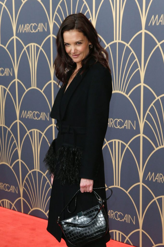 Katie Holmes – Marc Cain Fashion Show in Berlin January 2020