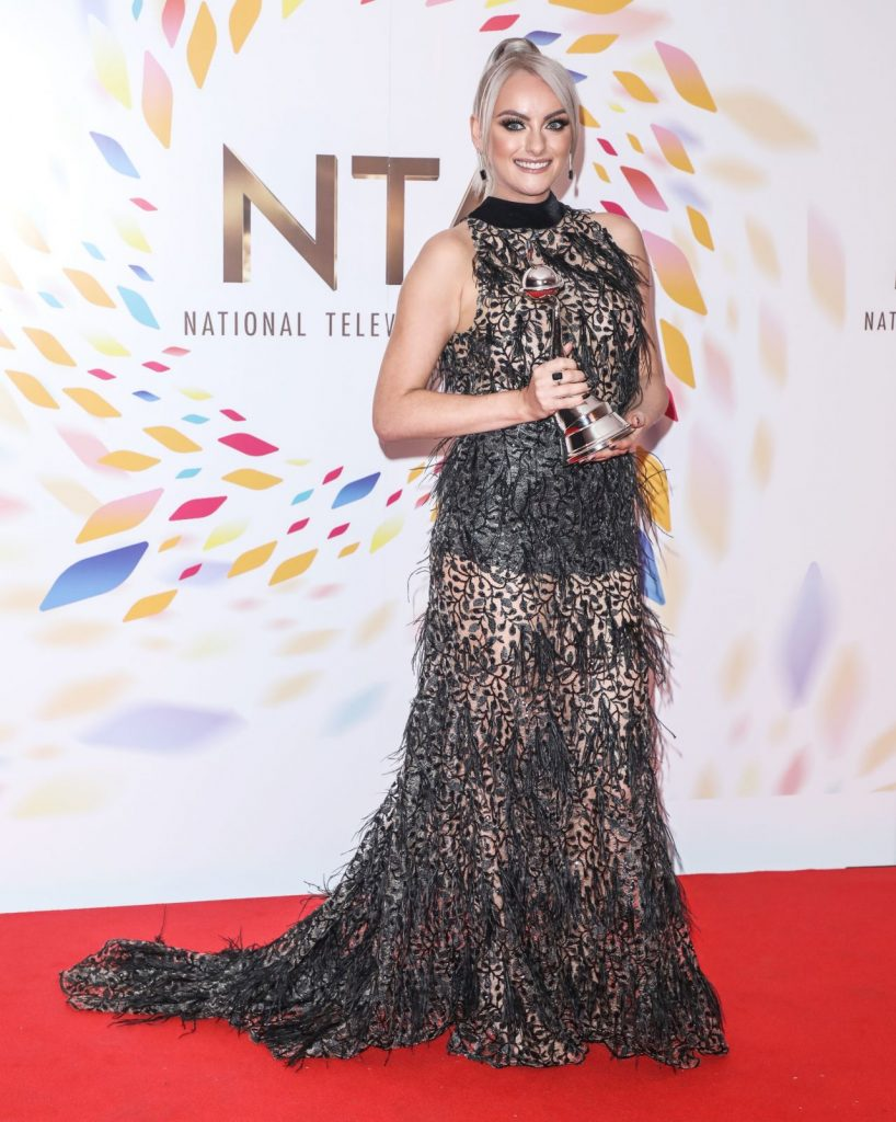 National Television Awards 2020 in London: Katie McGlynn (10 Photos)