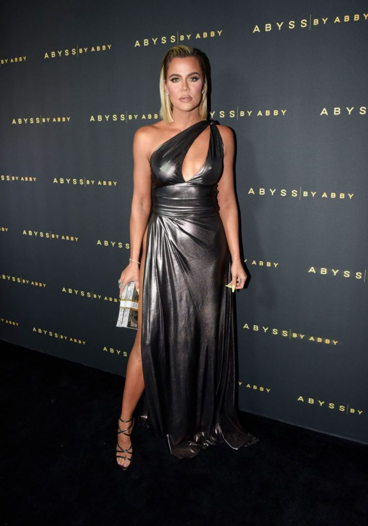 Khloe Kardashian – Abyss By Abby Arabian Nights Collection Launch Party in LA 2020