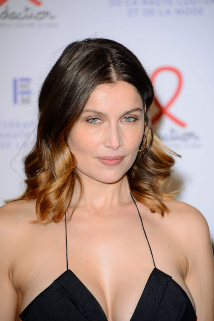 Fashion Dinner for AIDS Sidaction Association in Paris 2020: Laetitia Casta (15 Photos)