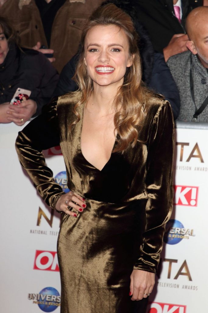 National Television Awards 2020 in London: Laura Aikman (9 Photos)