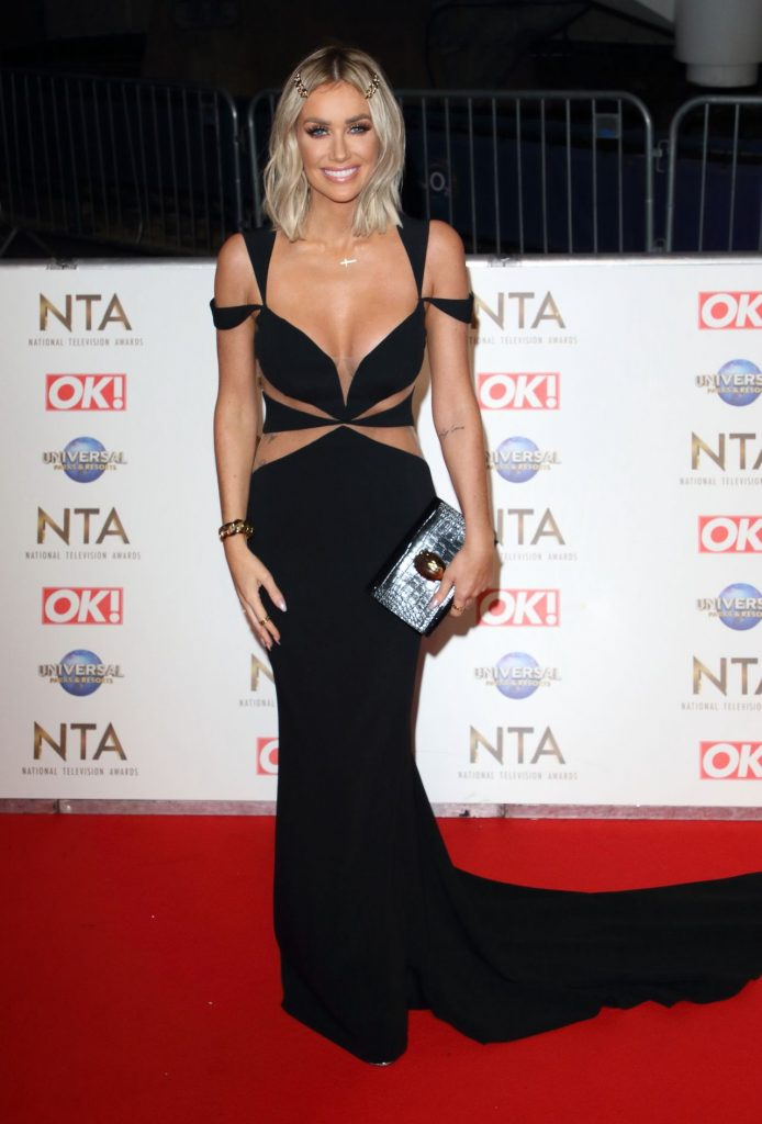 National Television Awards 2020 in London: Laura Anderson (4 Photos)
