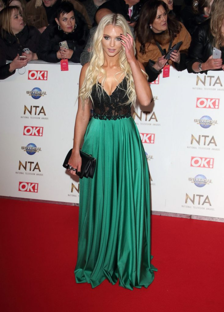 National Television Awards 2020 in London: Lucie Donlan (5 Photos)