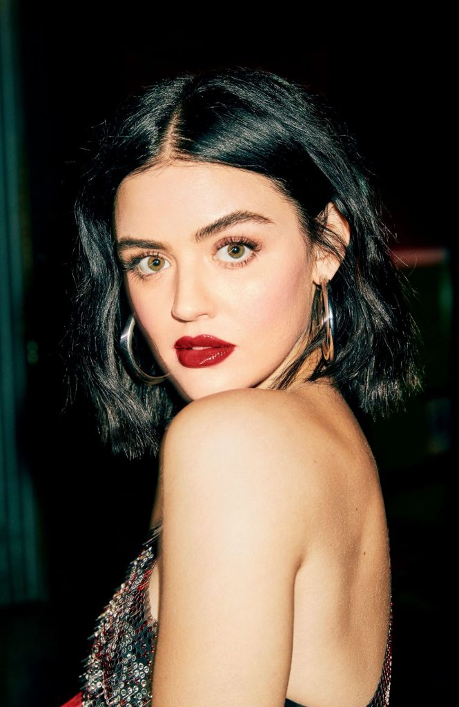 Photoshoot for Cosmopolitan February 2020: Lucy Hale (7 Photos)