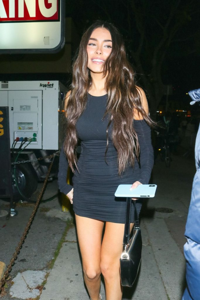 Madison Beer – Arriving at Justin Bieber Seasons Premiere in LA (7 Photos)