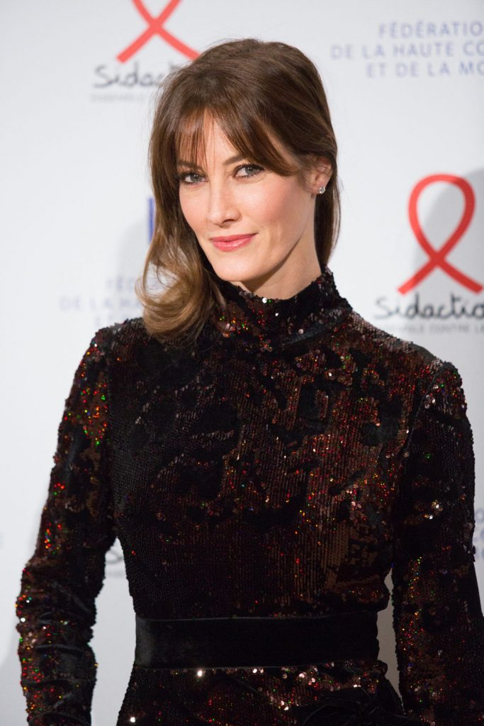 Mareva Galanter – Fashion Dinner for AIDS Sidaction Association in Paris 2020 (6 Photos)