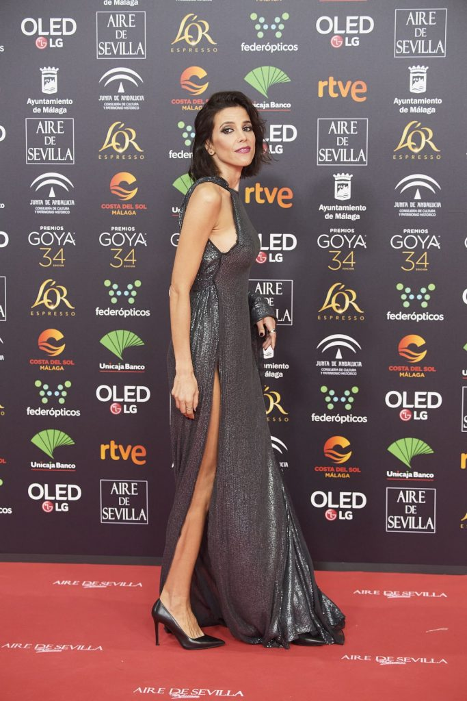 Goya Cinema Awards 2020 in Madrid: Maria Luisa Mayol (7 Photos)