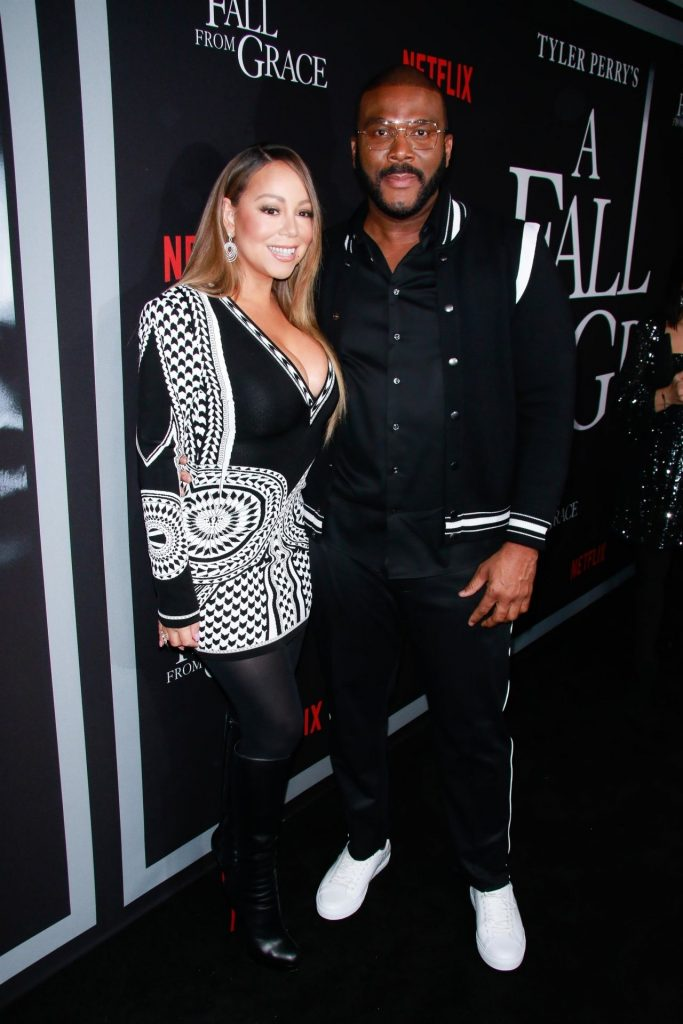 A Fall From Grace Premiere in New York City: Mariah Carey