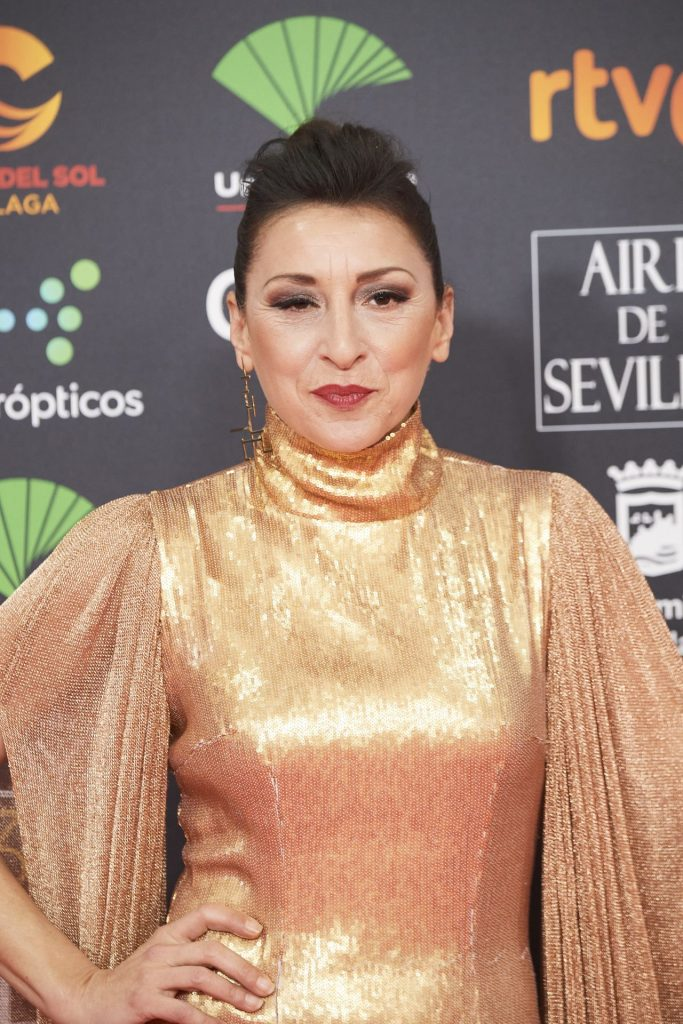 Goya Cinema Awards 2020 in Madrid: Mariola Fuentes (2 Photos)