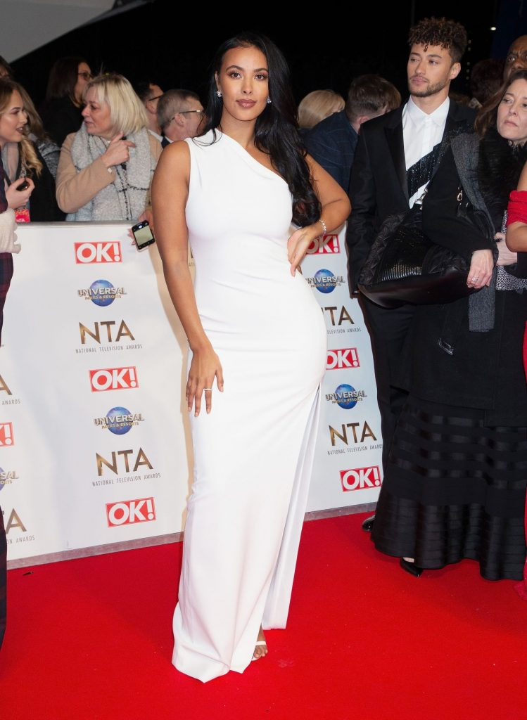 National Television Awards 2020 in London: Maya Jama (7 Photos)