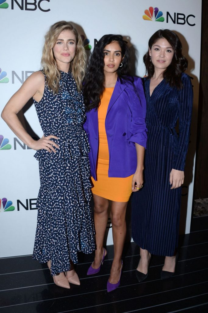Melissa Roxburgh – NBC and The Cinema Society Party in NY 2020 (7 Photos)