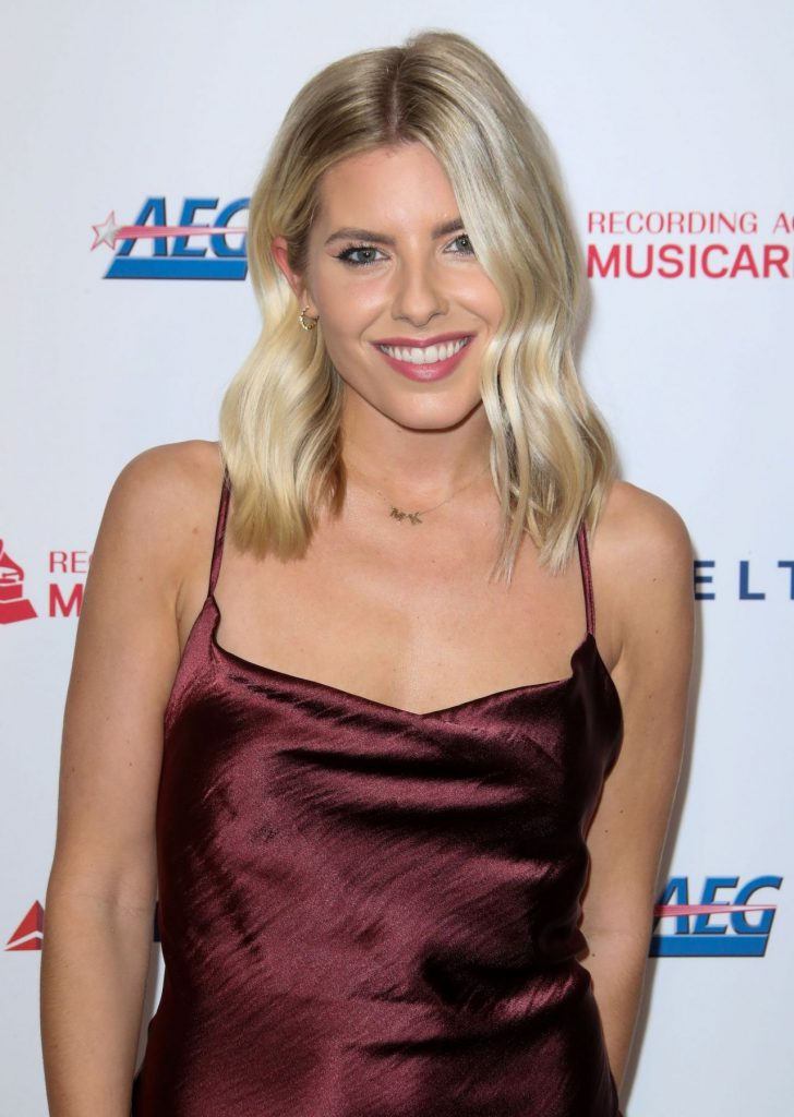 Mollie King – MusiCares Person of the Year Gala in LA 2020 (4 Photos)