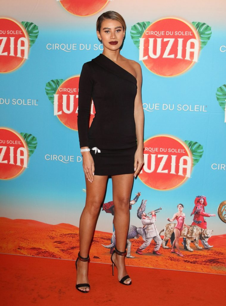 Cirque Du Soleil LUZIA Premiere in London: Montana Brown (5 Photos)