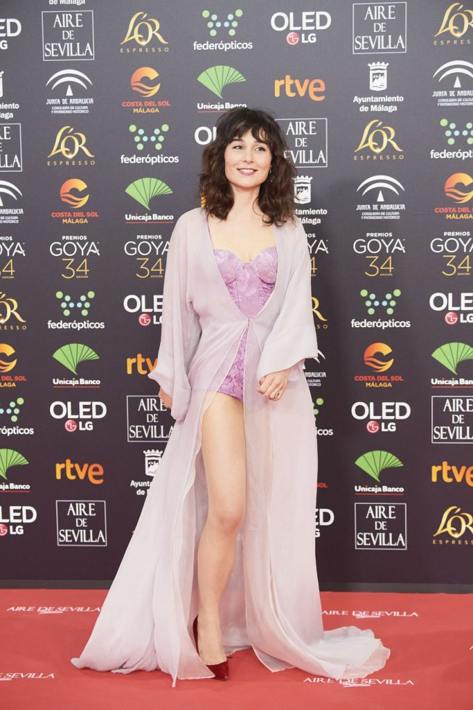 Goya Cinema Awards 2020 in Madrid: Nadia de Santiago (6 Photos)
