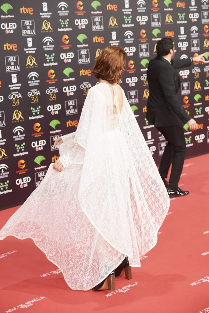 Goya Cinema Awards 2020 in Madrid: Najwa Nimri (7 Photos)