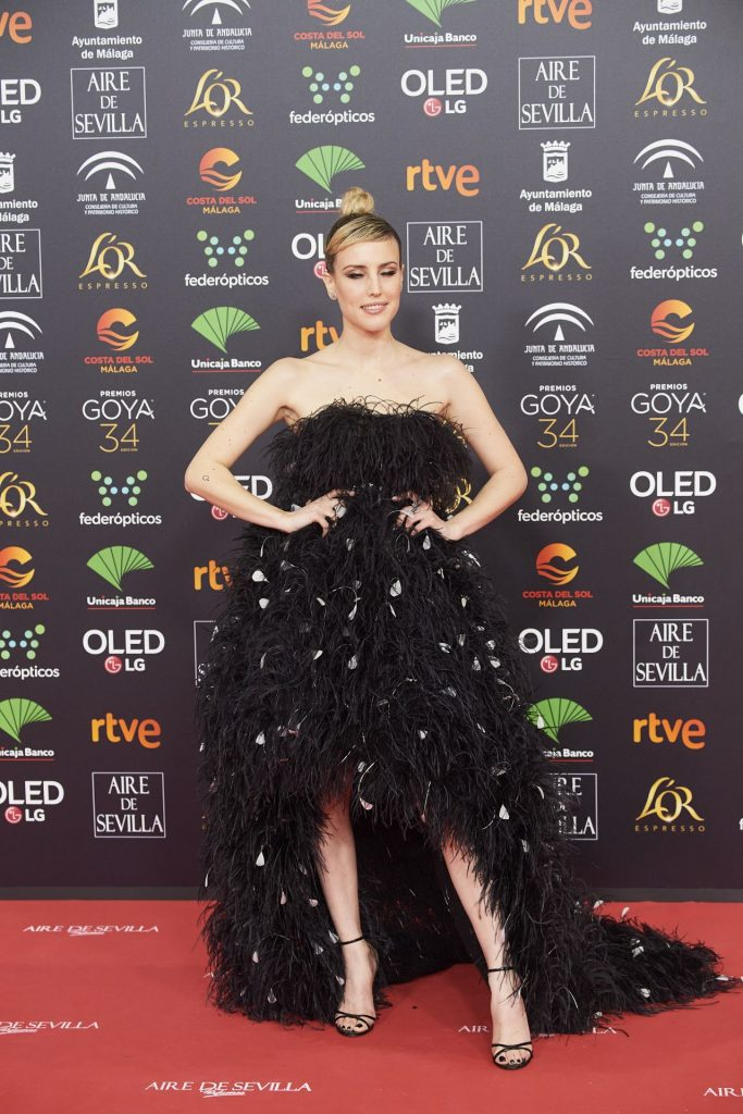 Goya Cinema Awards 2020 in Madrid: Natalia de Molina (7 Photos)