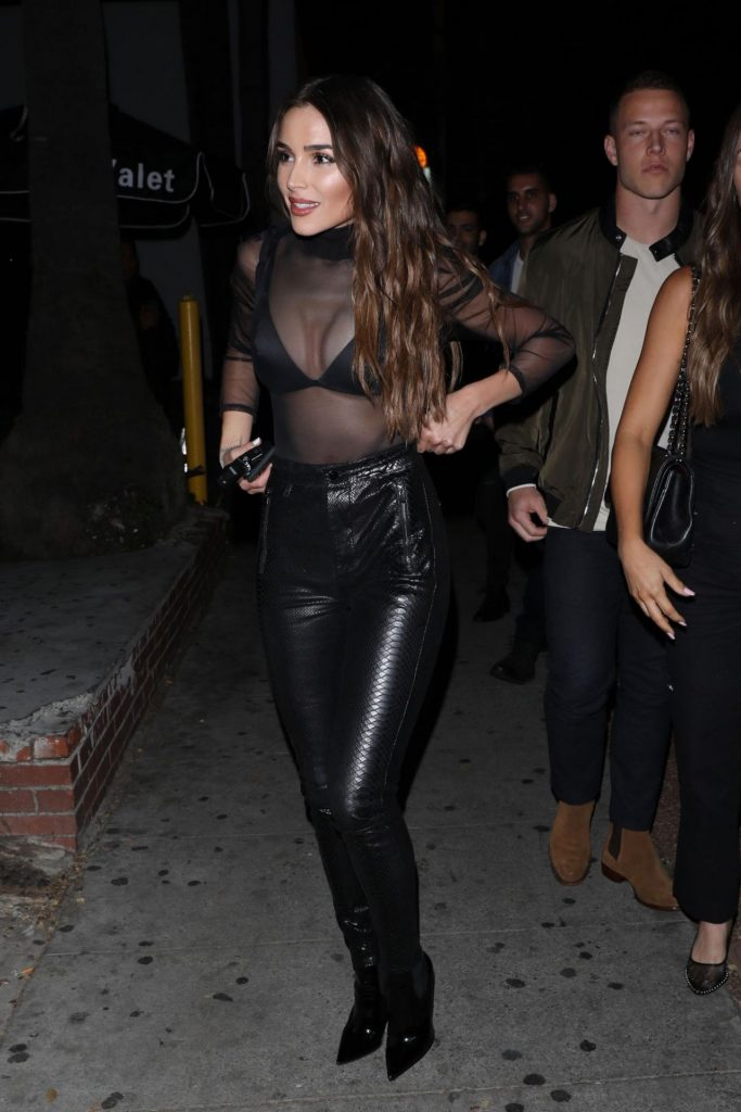 Olivia Culpo: Night Out Delilah in West Hollywood January 2020
