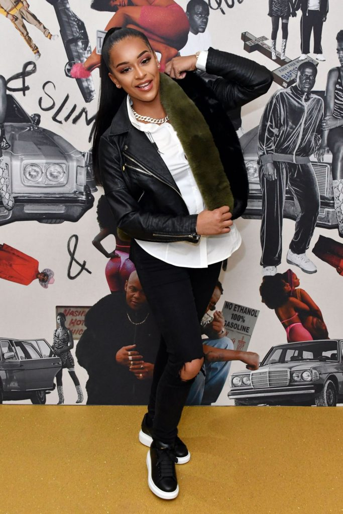 Paigey Cakey – Queen and Slim Premiere in London (4 Photos)