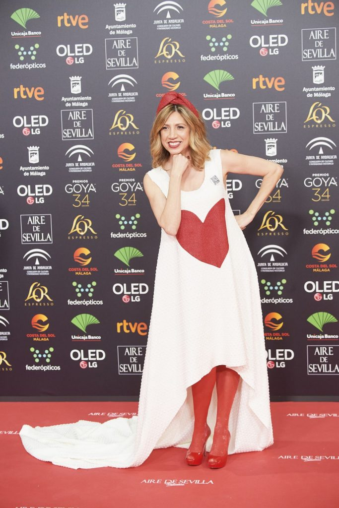 Goya Cinema Awards 2020 in Madrid: Pilar Ordonez (7 Photos)