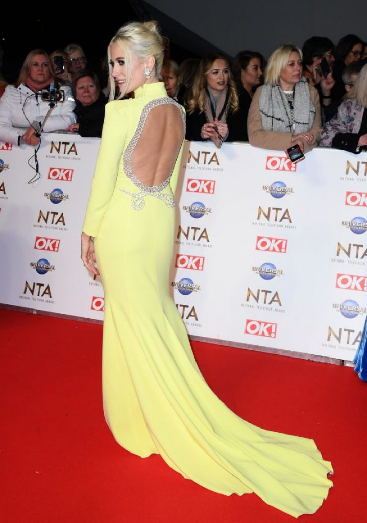 National Television Awards 2020 in London: Pixie Lott (5 Photos)