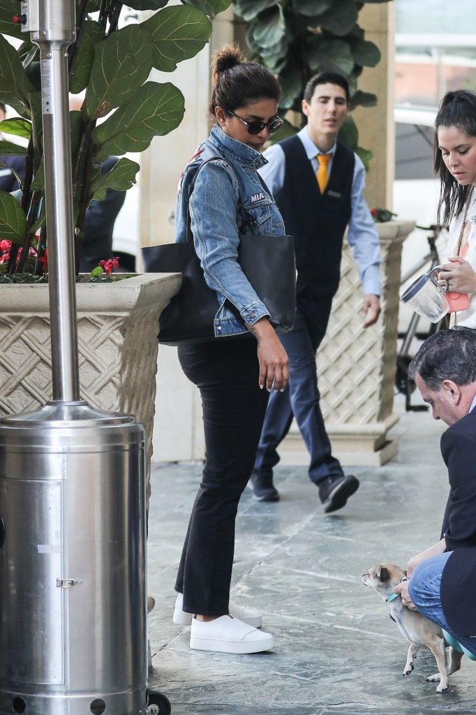 Priyanka Chopra – Arrives at the Peninsula in Beverly Hills January 2020