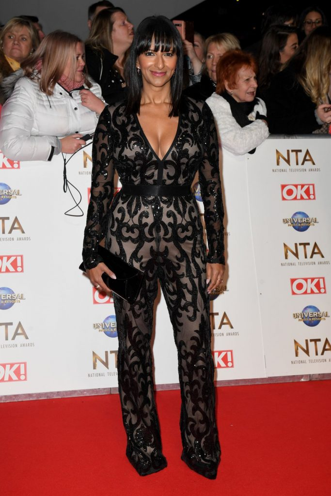 National Television Awards 2020 in London: Ranvir Singh