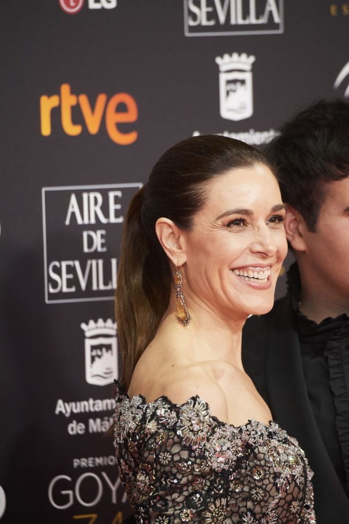 Goya Cinema Awards 2020 in Madrid: Raquel Sanchez Silva (7 Photos)