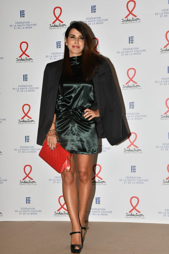 Reem Kherici – Fashion Dinner for AIDS Sidaction Association in Paris 2020
