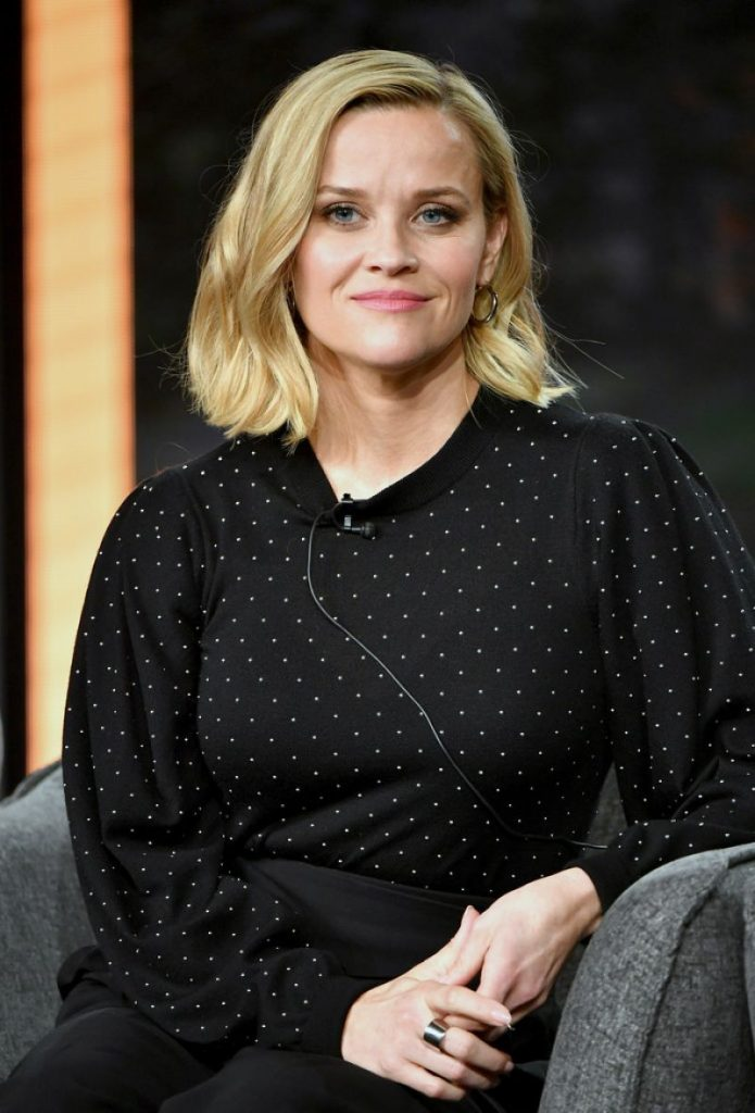 Reese Witherspoon – Hulu Panel at Winter TCA 2020 (7 Photos)