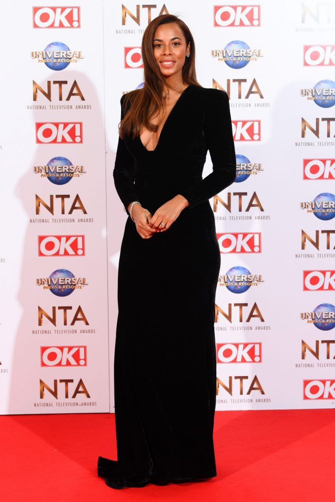 National Television Awards 2020 in London: Rochelle Humes (12 Photos)