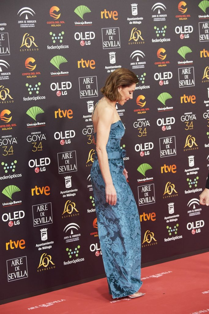 Goya Cinema Awards 2020 in Madrid: Ruth Diaz (3 Photos)
