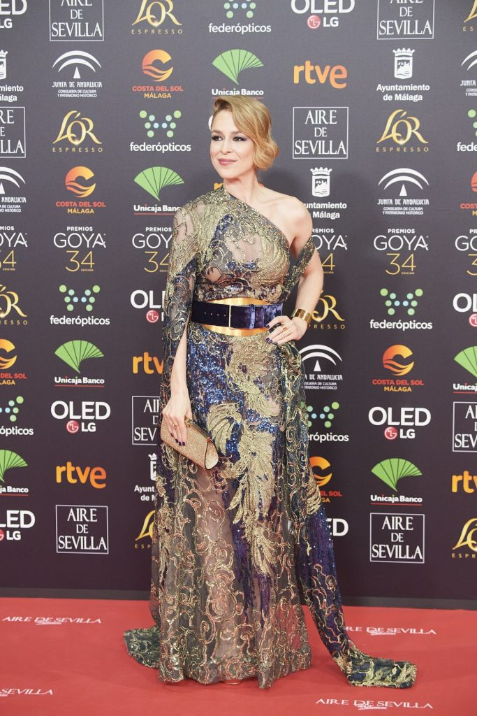 Goya Cinema Awards 2020 in Madrid: Silvia Abascal (7 Photos)