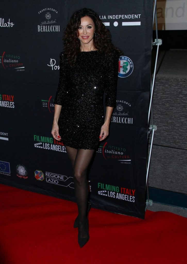 2020 Filming Italy Los Angeles Red Carpet: Sofia Milos