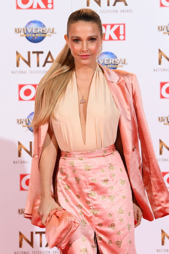 National Television Awards 2020 in London: Sophie Hermann (9 Photos)