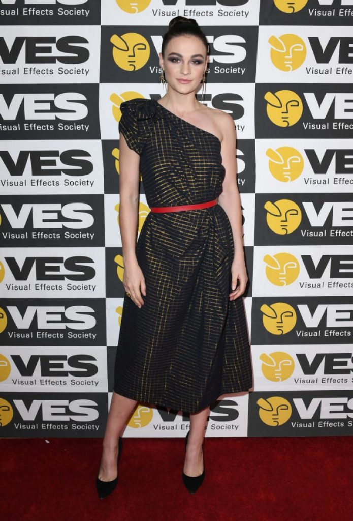 Visual Effects Society Awards 2020: Sophie Skelton (4 Photos)