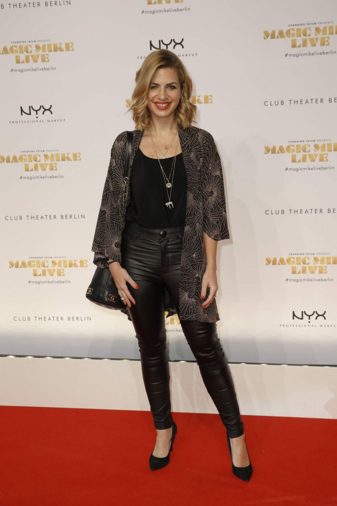 Magic Mike Show Premiere in Berlin: Susan Sideropoulos