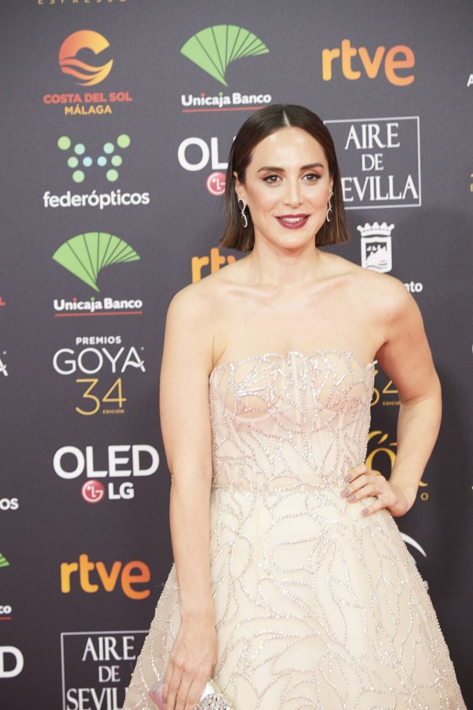 Goya Cinema Awards 2020 in Madrid: Tamara Falco (7 Photos)
