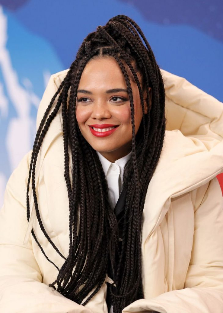 Tessa Thompson – IMDb Studio at the 2020 Sundance Film Festival (4 Photos)