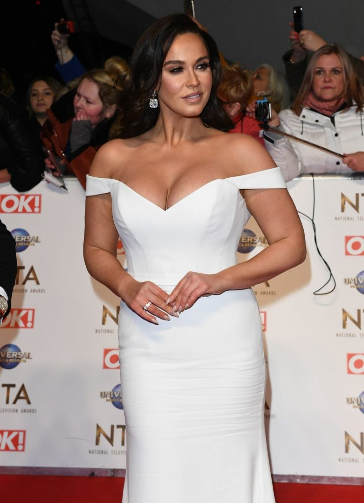 National Television Awards 2020 in London: Vicky Pattison (10 Photos)