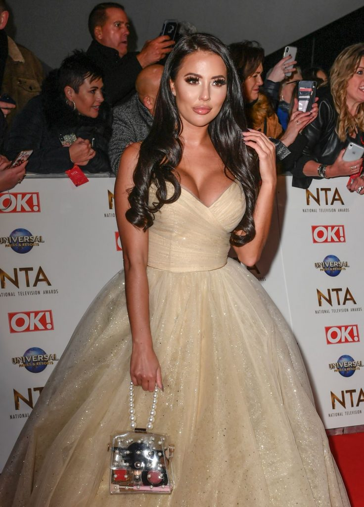 National Television Awards 2020 in London: Yazmin Oukhellou (4 Photos)