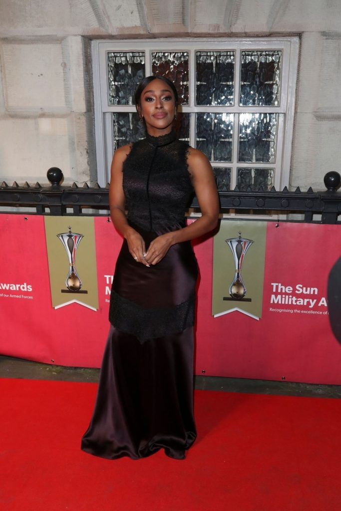 Alexandra Burke – The Sun Military Awards 2020 (6 Photos)