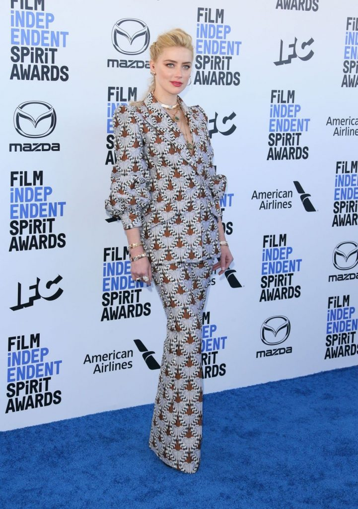 Film Independent Spirit Awards 2020: Amber Heard (13 Photos)